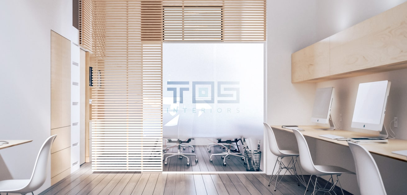 Custom interior logo design office