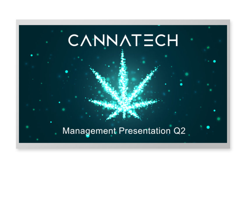 Custom cannabis powerpoint presentation design featured