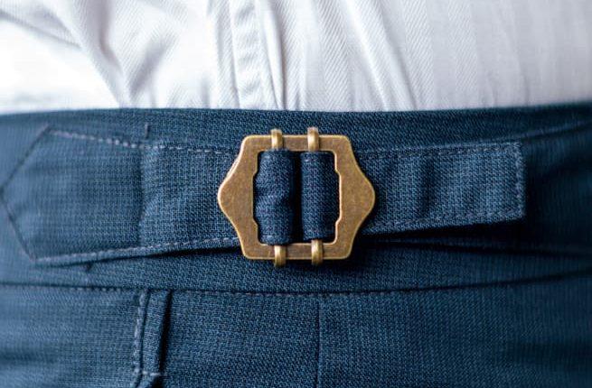 Custom tailor slide buckle design concept