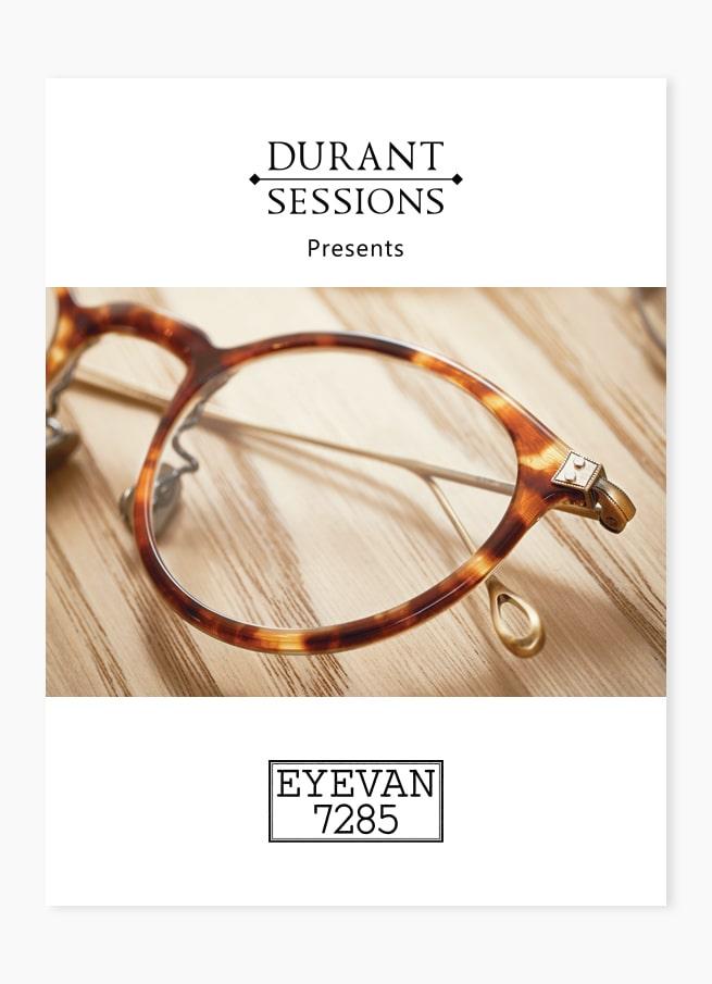 Custom eyewear poster optical frame design