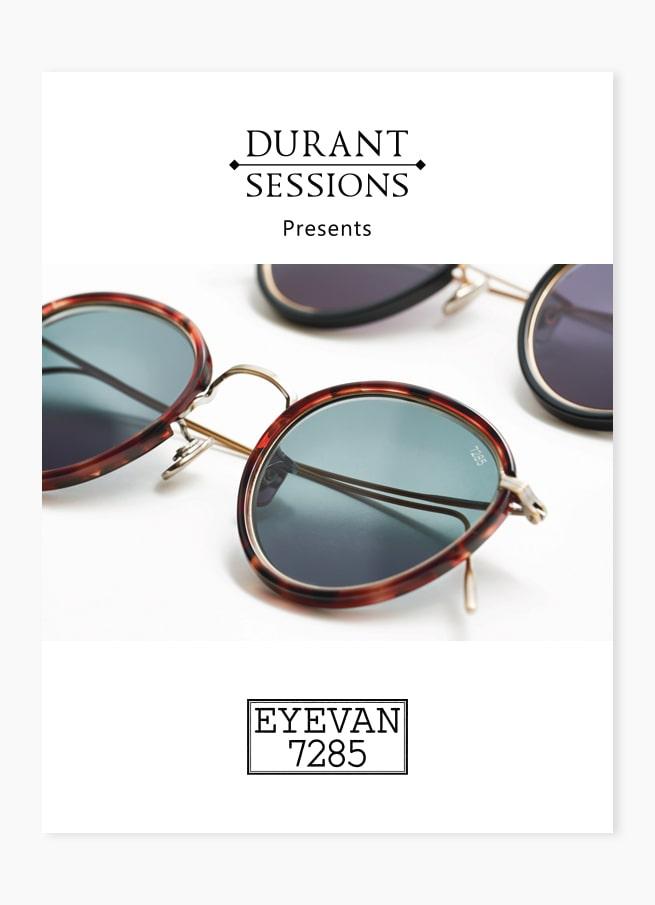 Custom eyewear poster optical frames design