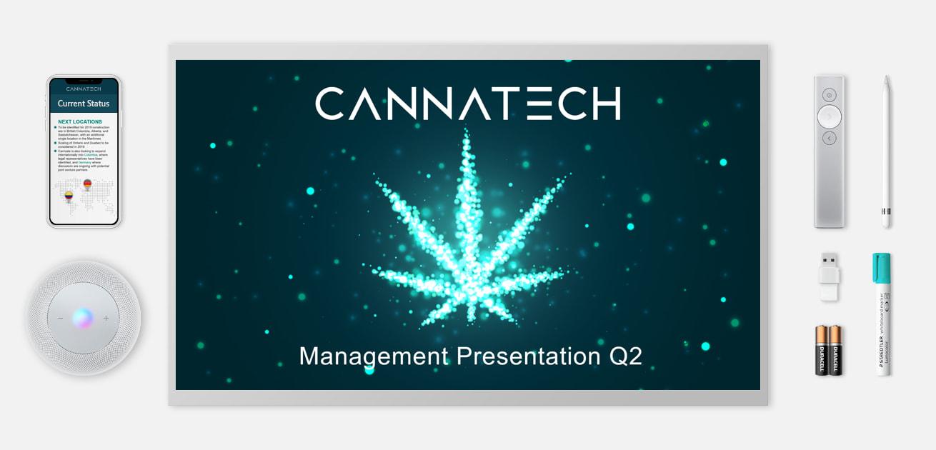 Custom cannabis powerpoint presentation featured