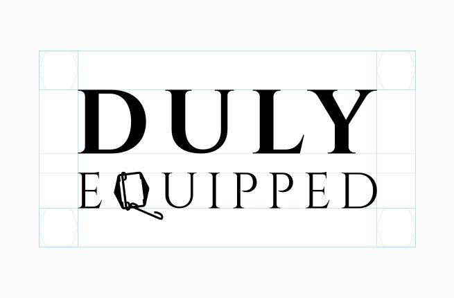 Custom tailor logo design sketch